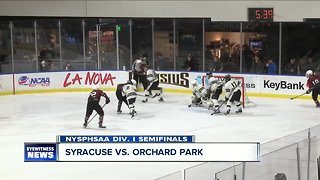Orchard Park boys hockey falls in NYSPHSAA state semifinals