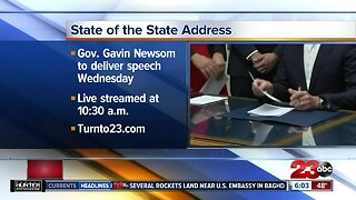 Newsom state of the state address