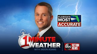 Florida's Most Accurate Forecast with Jason on Friday, January 11, 2019