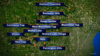 Water main break puts 12 Oakland County cities under Boil Water Advisory