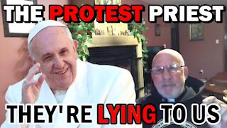 THEY'RE LYING TO US | Fr. Imbarrato Live - Wed, Jan. 13, 2021