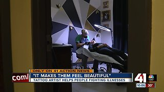 Paramedical tattoos help cancer survivors heal emotionally