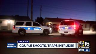 Valley man accidentally shoots intruder in Phoenix - Video