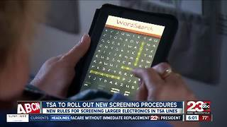 TSA changes screening procedures - Video