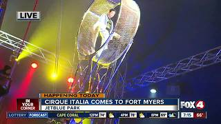 The Water Circus comes to Fort Myers -- 7am live report - Video
