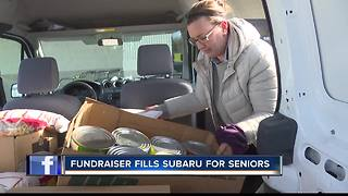 Fill the Subaru for Seniors benefits Metro Meals on Wheels