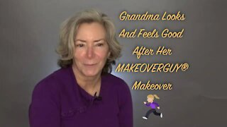 I've Been A Covid Grandma: A MAKEOVERGUY® Makeover