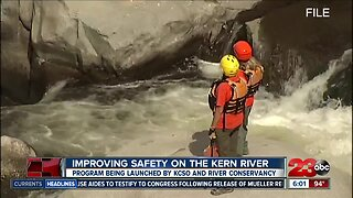 KCSO and Kern River Conservancy launch river safety campaign