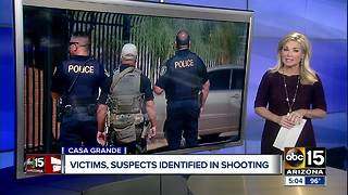 Victims, suspects idenfied in Casa Grande shooting - Video