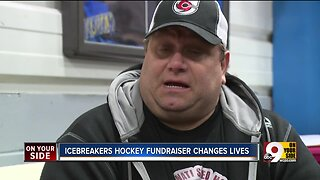 Icebreakers hockey fundraiser changes lives
