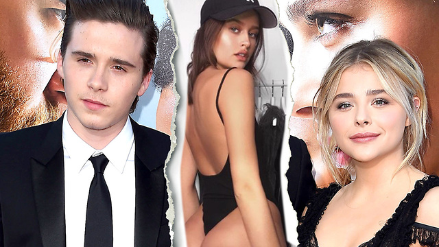 9f7f4206721 Brooklyn Beckham CAUGHT Kissing IG Model! Chloe Moretz Breakup CONFIRMED!
