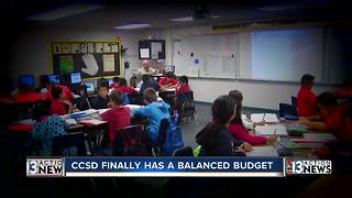 After months of turmoil, CCSD balances budget - Video