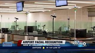 Airport facial recognition