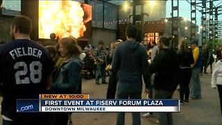 Oktoberfest marks first event in public space outside Fiserv Forum - Video