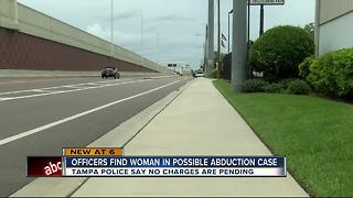 Tampa Police close possible abduction case - Video
