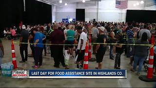 Last day for food assistance site in Highlands Co. - Video