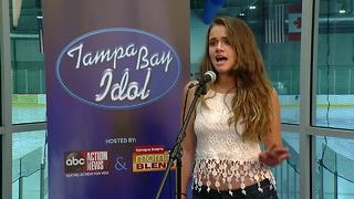 Victoria Tampa Bay Idol audition