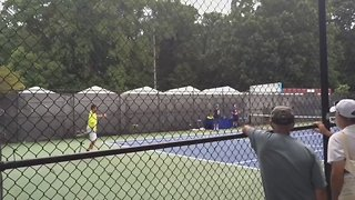 Bernard Tomic and Victor Troicki in Heated Exchange With Washington Police Officer - Video