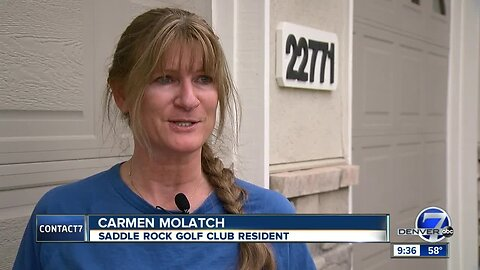 Errant golf balls taking toll on homes in Saddle Rock Golf Club, golfers skipping out on damages