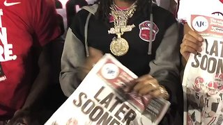 Rapper Quavo Celebrates With Georgia Bulldogs Following Rose Bowl Victory - Video