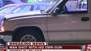 Man Shot While Chasing Teen Robbers - Video