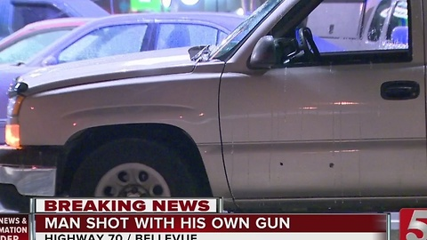 Man Shot While Chasing Teen Robbers