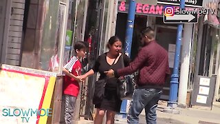 Social experiment: Child abused by stranger in public