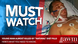 Young Dad Suffers Liver Failure, Given Two Weeks To Live. Doctors Blame Popular OTC Pills - Video