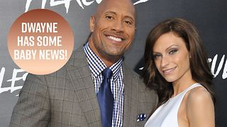 Daddy Dwayne Johnson just shared the sweetest news - Video