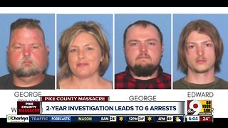 Six family members charged in Rhoden family slayings - Video