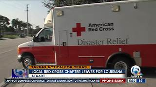 Local Red Cross chapter leaves for Louisiana - Video