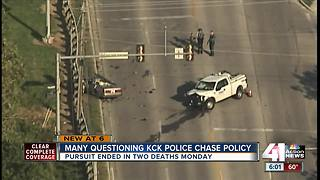 Some question KCKPD's chase policy after deaths
