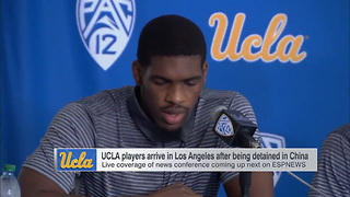 UCLA Basketball Players Thank President Trump for Helping to Bring Them Home - Video