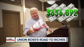 As union wages stall, retiring president walks off with $656,000 - Video
