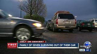 Cycle of poverty has family of 7 living inside SUV in suburban Denver - Video