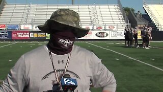Interview with Jenks Head Coach Keith Riggs