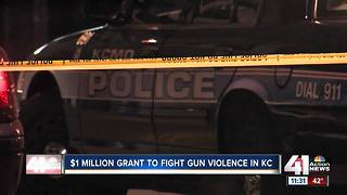 KC considers $1 million gun violence grant - Video