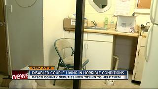 Pasco couple living in filth gets help from county
