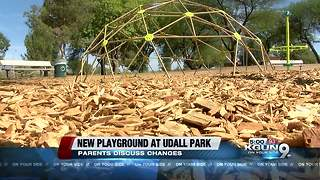 New playground opens at Udall Park - Video