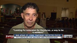 Immigrant with tumor fears losing Temporary Protected Status - Video