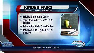 Kinder Fairs to be held to get parents ready for open enrollment - Video
