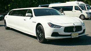The $150,000 Maserati Stretch Limo | RIDICULOUS RIDES