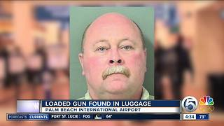 Traveler with loaded gun arrested at Palm Beach International Airport - Video