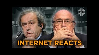 Sepp Blatter & Michel Platini Suspended By FIFA! | Internet Reacts - Video