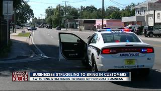 Seminole Heights businesses hurting after 4 murders - Video