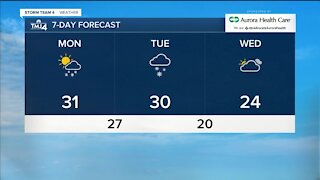 Winter weather advisory goes into effect at 6 p.m. Monday through Tuesday