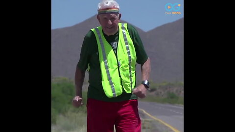 Your Daily Diversion - Running Coast To Coast At Age 90!