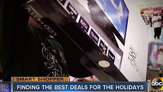 Finding the best deals for the holidays this shopping season - Video