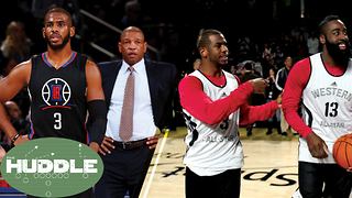 Chris Paul BEEF with Doc Rivers, Can He and James Harden Co-Exist? -The Huddle - Video