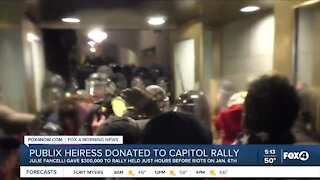 Publix Heiress donated to capitol riots